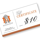 Picture of $10 e-Gift Certificate