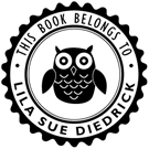 Picture of Lila Library Stamp
