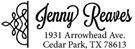 Picture of Jenny Rectangular Address Stamp
