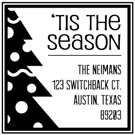 Picture of Neiman Holiday Stamp