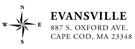 Picture of Evansville Rectangular Address Stamp