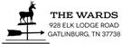 Picture of Ward Rectangular Address Stamp