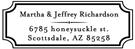 Picture of Richardson Rectangular Address Stamp