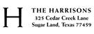 Picture of Harrison Rectangular Address Stamp