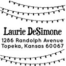Picture of Laurie Wood Mounted Holiday Stamp