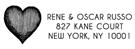 Picture of Rene Rectangular Address Stamp