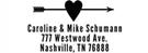 Picture of Caroline Rectangular Address Stamp