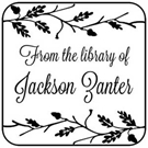 Picture of Zanter Library Stamp