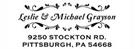 Picture of Grayson Rectangular Address Stamp
