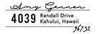 Amy Rectangular Address Stamp