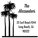 Picture of Alexander Wood Mounted Address Stamp