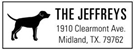 Picture of Clearmont Rectangular Address Stamp