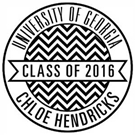 Picture of Chloe Wood Mounted Graduation Stamp
