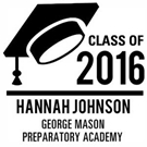 Picture of Johnson Wood Mounted Graduation Stamp