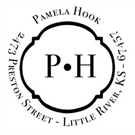Picture of Pamela Wood Mounted Address Stamp