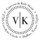 Picture of Vanessa Wood Mounted Address Stamp