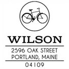 Picture of Wilson Wood Mounted Address Stamp