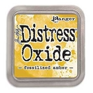 Picture of Tim Holtz Distress Oxide Ink Pad: Fossilized Amber
