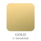 "Picture of 2"" Square Gold Embossing Seals"