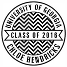 Picture of Chloe Graduation Stamp