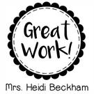 Picture of Beckham Teacher Stamp