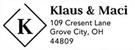Picture of Klaus Rectangular Address Stamp