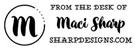 Picture of Maci Rectangular Social Stamp