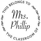 Picture of Phillip Teacher Stamp