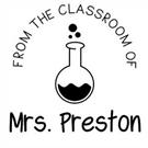 Picture of Preston Teacher Stamp