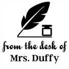 Duffy Teacher Stamp
