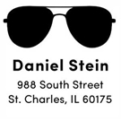 Picture of Daniel Wood Mounted Address Stamp