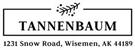 Picture of Tannenbaum Rectangular Holiday Stamp