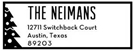 Picture of Neiman Rectangular Holiday Stamp
