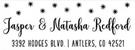 Picture of Natasha Rectangular Holiday Stamp