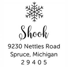 Picture of Shook Holiday Stamp