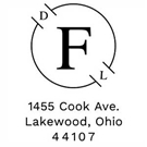 Picture of Foster Wood Mounted Address Stamp