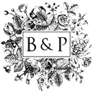 Picture of Barb Wood Mounted Monogram Stamp