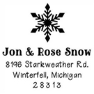 Picture of Jon Wood Mounted Holiday Stamp