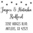 Picture of Natasha Wood Mounted Holiday Stamp